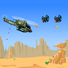 Онлайн игра Chopper Assault - Chopper Assault.
