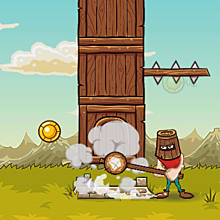 Онлайн игра Crush tower - Crush tower.