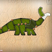 Онлайн игра Shape fold animals - Shape fold animals.