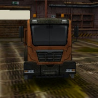 Industrial Truck 3D Parking
