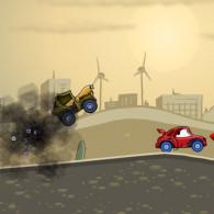 Online game Car Eats Car 2 Deluxe