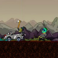 Online game Zombie Car Madness