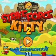 Игра Ударный отряд котят 2. Strike Force Kitty 2