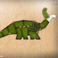 Online game Shape fold animals