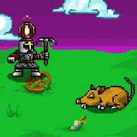 Online game Egg Knight