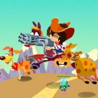 Online game Ковбой против пришельцев (Cowboy vs UFOs)