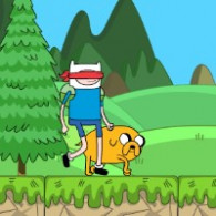 Онлайн игра Adventure Time Blind Finned