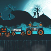 Онлайн игра Halloween Monster Transporter