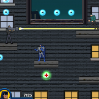 Онлайн игра Batman the Rooftop Caper