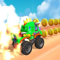 Online game Beast Monster Trucks