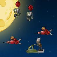 Online game Zombies Star War