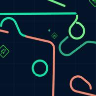 Online game LazerDrive.io