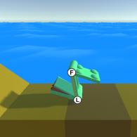 Лягушка прищепка (Floppy Frog)