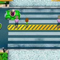 Online game Crosswalk