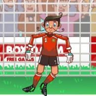 Online game Ragdoll Goalie