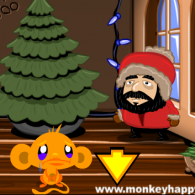Онлайн игра Monkey Go Happy Lights