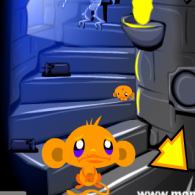 Онлайн игра Monkey GO Happy Escape