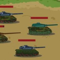 Online game Tank Biathlon