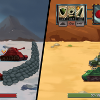Онлайн игра Tank Battle: War Commander
