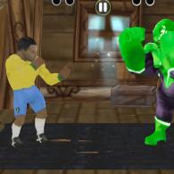 Online game Superheroes vs Footballers