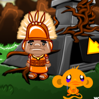 Онлайн игра Monkey GO Happy Four Worlds 2