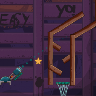 Онлайн игра Cannon Basketball 4