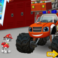 Онлайн игра Blaze And The Monster Machines: Firefighters