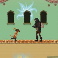 Online game Der gestiefelte Kater: Katzen-Sprung
