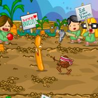 Online game King Bacon Vs The Vegans