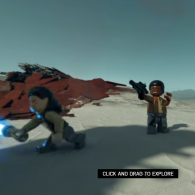 Онлайн игра LEGO Star Wars The Last Jedi 360 Experience