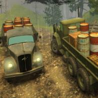 Online game Off-Road Rain: Cargo Simulator