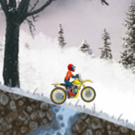 Online game Ice Biker