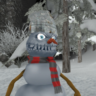 Online game Christmas survival FPS
