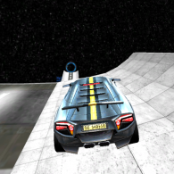 Online game Galactic Car Stunts