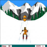 Онлайн игра Alpine Skiing