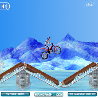 Онлайн игра Bike Mania On Ice