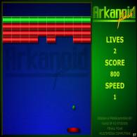 Flash Arkanoid
