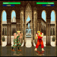 Онлайн игра Flash Street Fighter 2