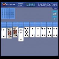 Online game Spider Solitaire