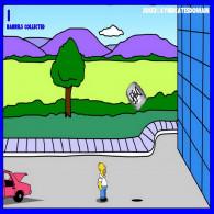 Simpsons In Homers Beer Run